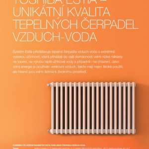 ESTIA - Tepelná čerpadla vzduch - voda