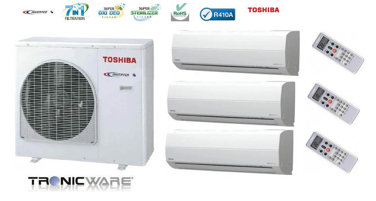 Toshiba multi split řešení